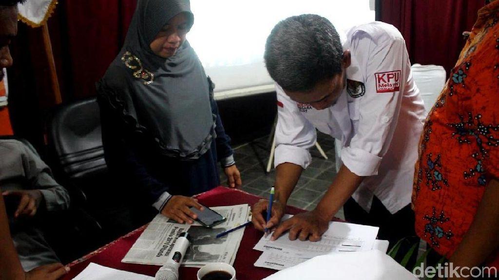 Di TPS Tergemuk di Jateng, Jokowi Raih 75 Persen di Pemalang