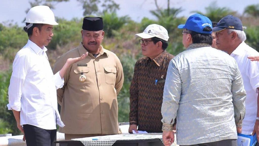 Serius Pindahkan Ibu Kota, Jokowi Tinjau Kalimantan Timur