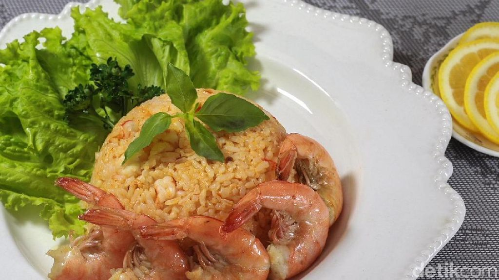 Menu Harian Ramadhan ke-20: Lezatnya Nasi dan Udang Goreng Untuk Sahur dan Berbuka