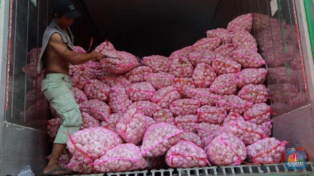 256 Ribu Ton Bawang Putih Impor Siap Masuk Indonesia