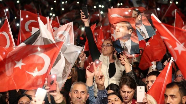 Kandidat Oposisi Turki Menang Tipis, Pilkada Istanbul Diulang
