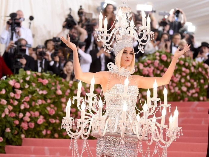 Katy Perry di MET Gala 2019 (Foto: Getty Images)