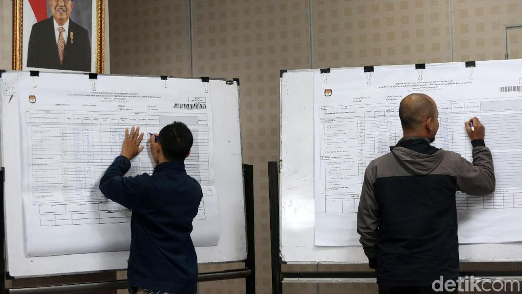 Rekapitulasi Nasional KPU: Gerindra, PAN dan Demokrat Unggul di Sumbar