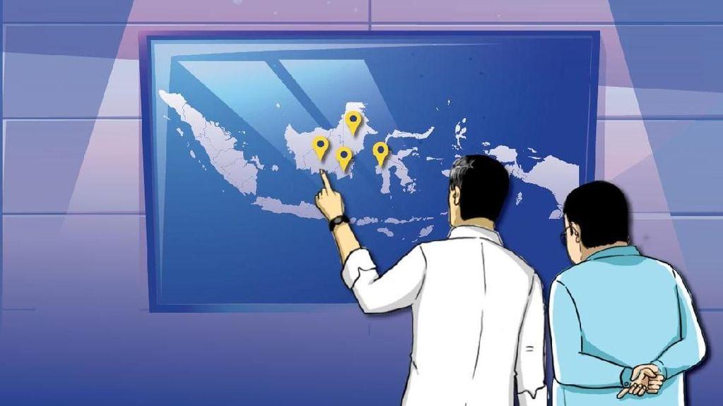 Hampir Pasti ke Kalimantan, Ini Calon Terkuat Ibu Kota Baru RI