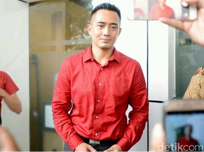 Yama Carlos saat ditemui di PN Jakarta Selatan.