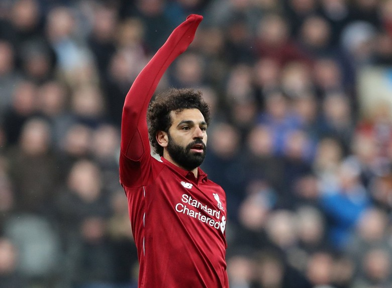 Mohamed Salah. Foto: Scott Heppell/Reuters