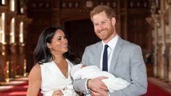Hari Ayah, Pangeran Harry dan Meghan Markle Pamer Foto Baru Bayi Archie
