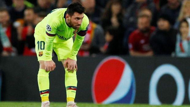 Lionel Messi belum pernah bobol gawang Jaume Domenech.