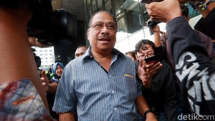 Anggota DPR dari Fraksi Partai Golkar, Melchias Marcus Mekeng (Ari Saputra/detikcom)
