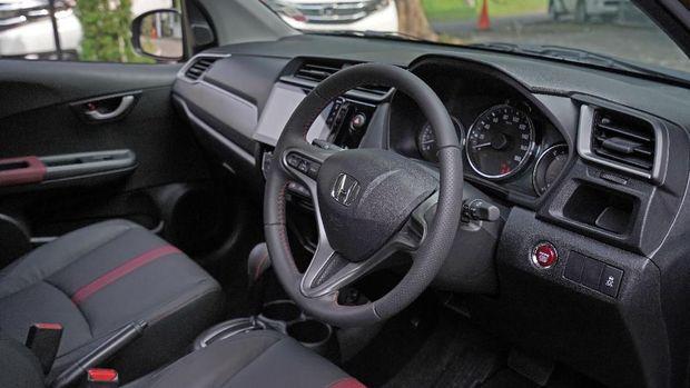 Interior Honda BR-V baru yang diluncurkan di Telkomsel IIMS 2019.
