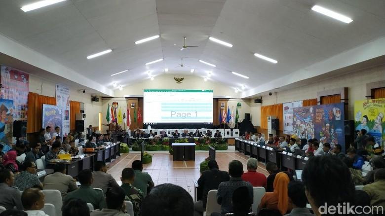 KPU Jabar Masih Tunggu Hasil Rekapitulasi Kabupaten Bekasi