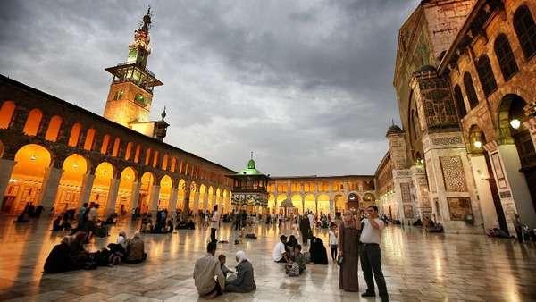 Umayyad Mosque, Masjid Pertama yang Penah Dikunjungi Paus