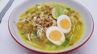 Resep soto ayam kuning.