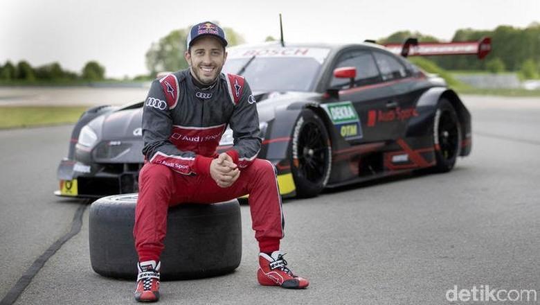 Andrea Dovizioso dan Audi RS 5 DTM Foto: Audi