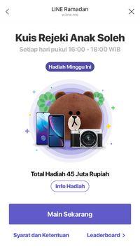 Line Indonesia Punya Fitur Ramadhan, Dari Julit Sampai Baper