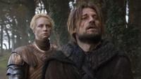Game of Thrones Season 8 Episode 4 tampilkan cerita patah hati dari para tokoh, seperti Brienne. Ia harus kehilangan Jamie Lannister saat lagi sayang-sayangnya. Foto: Dok. HBO