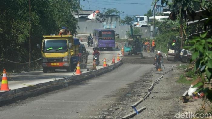 Salah satu jalur mudik yang melintasi Banyumas (Foto: Arbi Anungrah/detikcom)