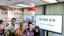 TKN Pamer Real Count Jokowi-Maruf Raup 80 Juta Suara
