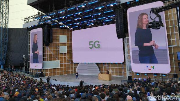 Android Q Dukung Ponsel Layar Lipat dan 5G