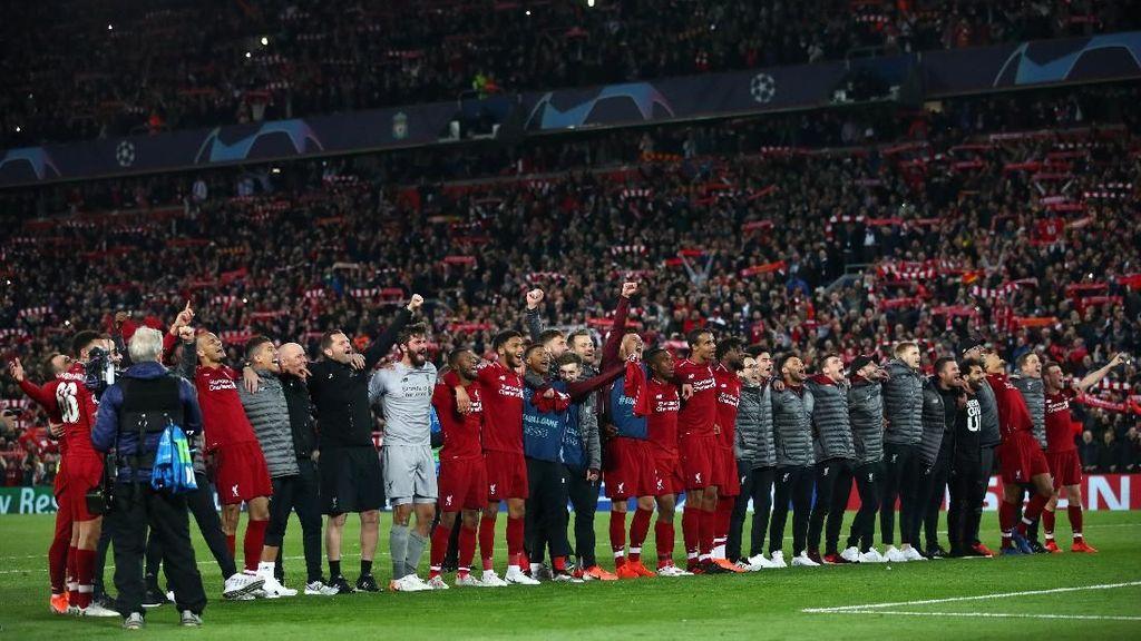 Jelang Final Liga Champions, Liverpool Berlatih di Spanyol
