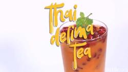 Manis dan Segarnya Thai Delima Tea untuk Berbuka