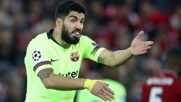 Ketajaman Luis Suarez sebagai striker cukup konsisten. (