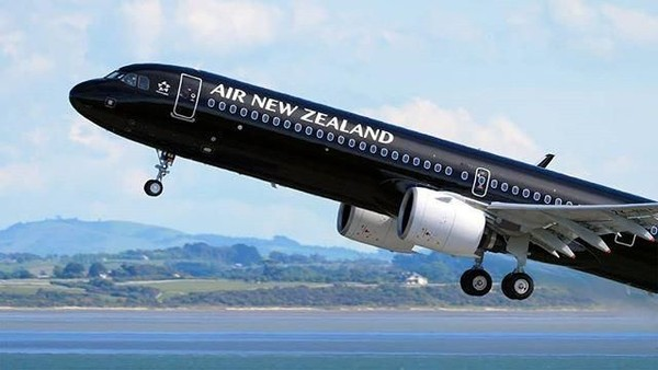 Air New Zealand meraih posisi kedua. Sebelumnya maskapai penerbangan ini berada di urutan pertama.(Air New Zealand)