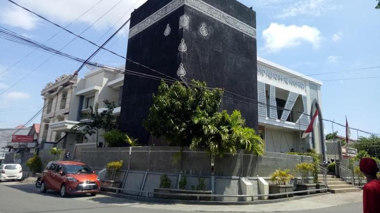 Masjid Kabbah di Sulawesi Selatan (Ibnu/detikcom)