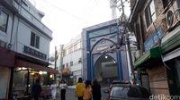 Tampak gerbang masjidnya (Afif Farhan/detikTravel)