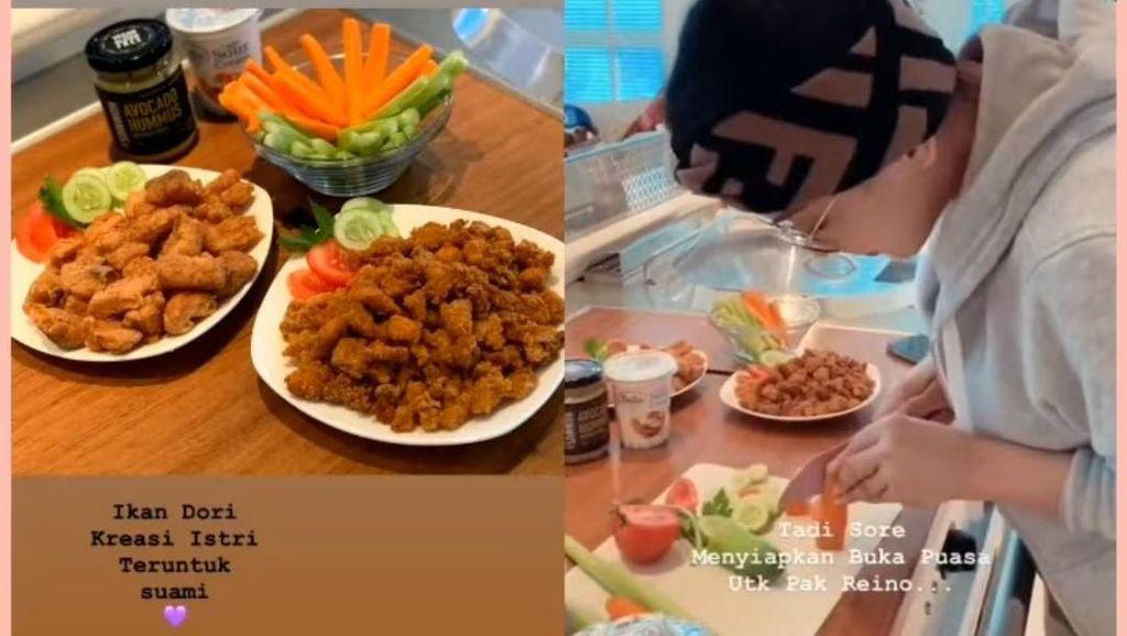 Masak Untuk Buka Puasa, Syahrini : Ikan Dori Kreasi Istri Teruntuk Suami