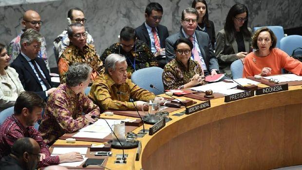 Menlu Retno pimpin sidang Dewan Keamanan PBB /