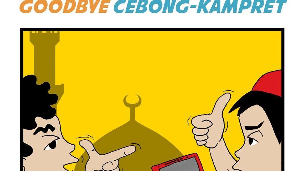Si Komar: Goodbye Cebong-Kampret
