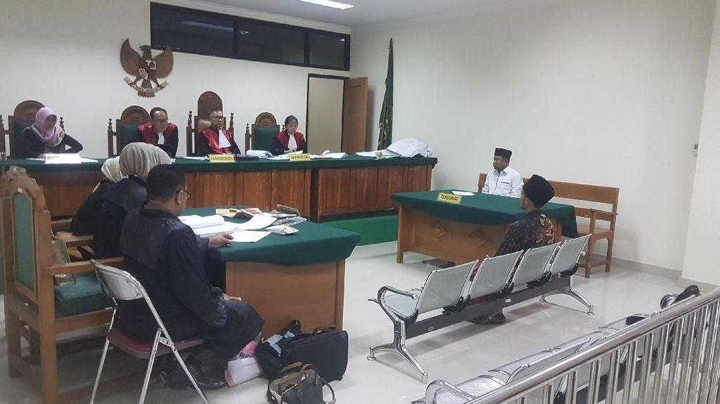 Kampanye di Musala, Caleg PKB di Serang Dihukum Pidana Percobaan