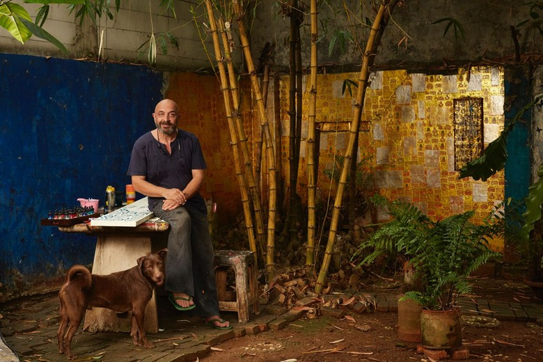 Energi Jakarta dalam Pameran Tunggal Seniman Inggris Rob Pearce Foto: Martin Westlake/ Istimewa
