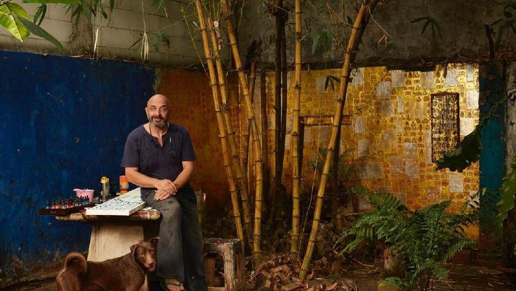 Energi Jakarta dalam Pameran Tunggal Seniman Inggris Rob Pearce