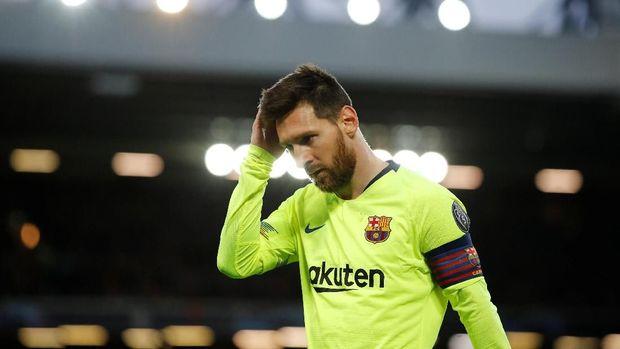 Lionel Messi menjadi ancaman Valencia di final Copa del Rey 2019.
