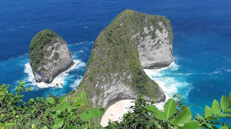 Salah satu destinasi yang akan dikunjungi Marshall dan Jeremiah di Bali adalah Nusa Penida (dok. MTMA)