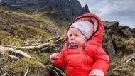 Foto: Mendaki Gunung Bawa Bayi 5 Bulan