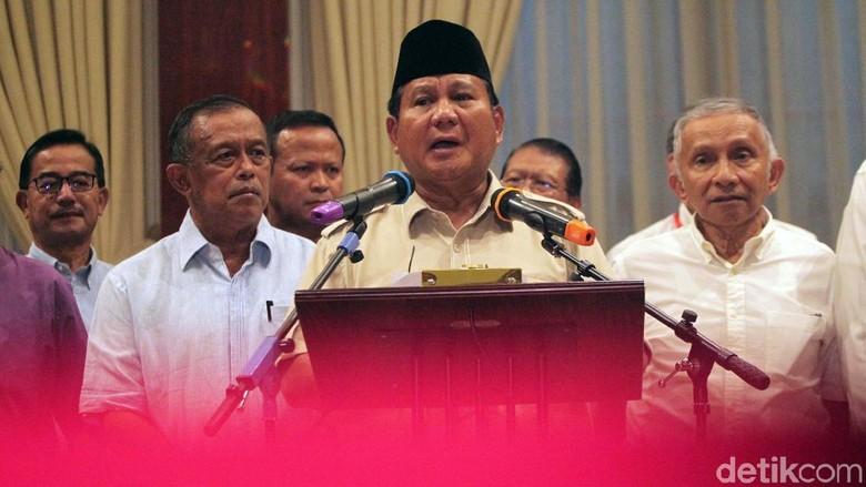 Malam Ini Prabowo Bikin Surat Wasiat di Kertanegara