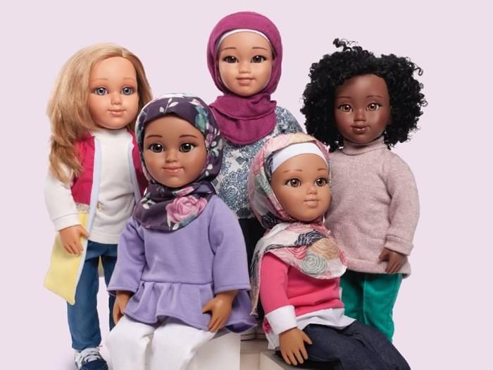 Boneka berhijab Salam Sisters. Foto: ist