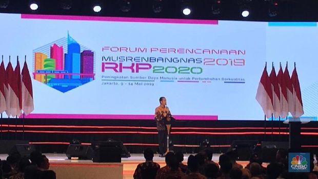 Jokowi: RI Bisa Jadi Ekonomi Terbesar Ke-4 Dunia di 2045