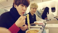Baru Keluar Wamil, Kyuhyun Super Junior Tetap Jadi Penggemar Berat Ramen