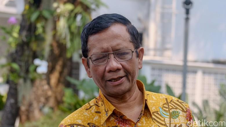 Mahfud Md Tak Jadi Masuk Tim Hukum Bentukan Wiranto, Diganti Orang Lain