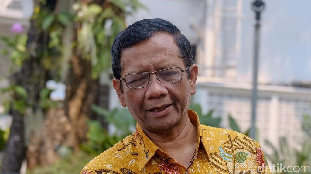 Rumah Menteri PUPR Digusur Tol, Mahfud MD: Hormat untuk Pak Basuki