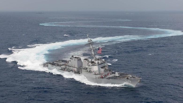 Tantang China, AS dkk Gelar Latihan Militer di Laut China Selatan