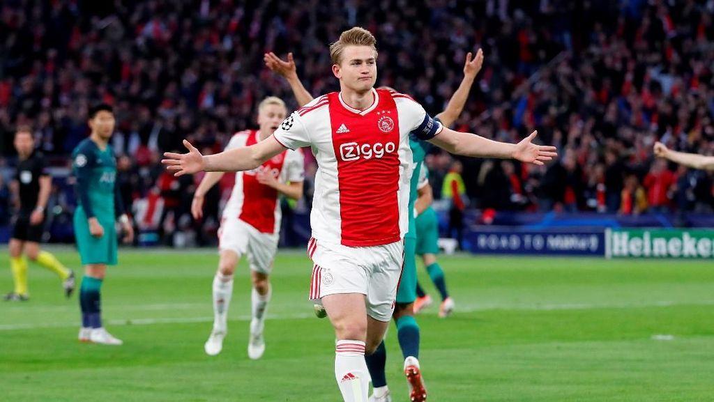 Matthijs De Ligt Sudah Mainkan Laga Terakhir untuk Ajax?