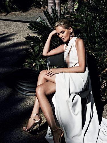 Sharon Stone di Vogue Portugal