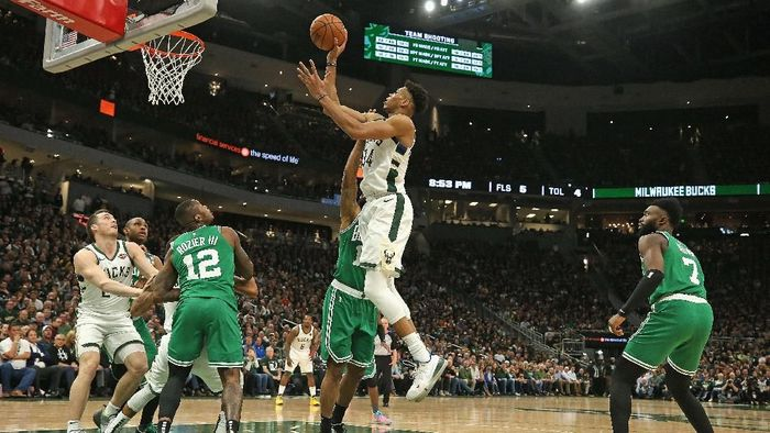 Milwaukee Bucks ke final Wilayah Timur NBA. (Foto: Jonathan Daniel / Getty Images)