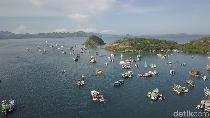 Foto Drone: Labuan Bajo yang Amat Ramai