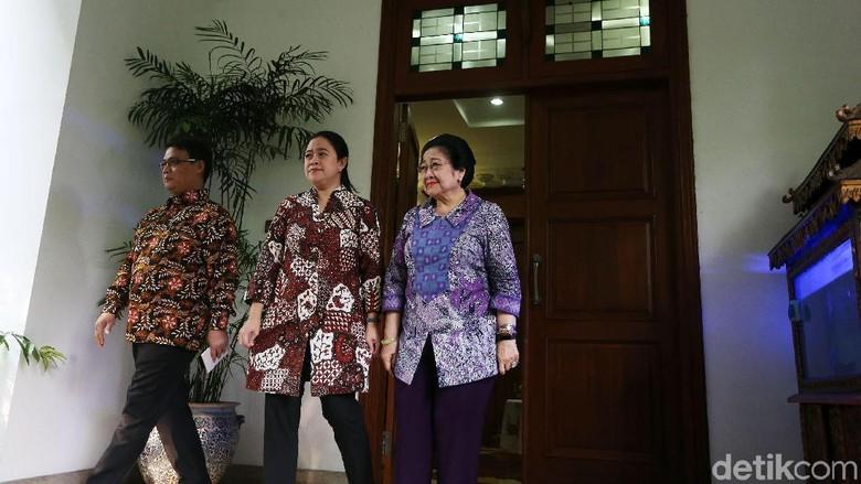 Maruf Amin Temui Megawati di Teuku Umar